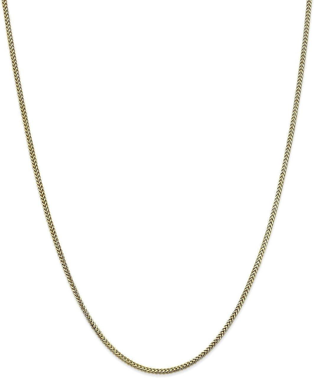 Lex /& Lu 10k Yellow Gold 1.5mm Franco Chain Bracelet or Necklace