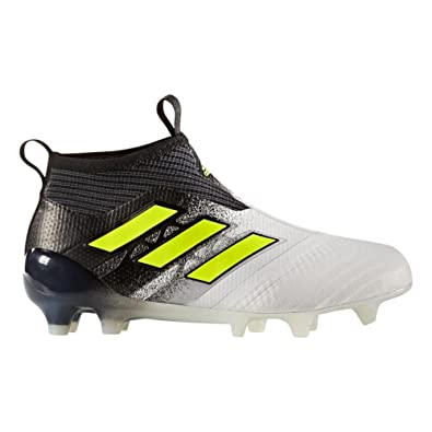 competitive price d5488 29957 adidas ACE 17+ PURECONTROL Youth Firm Ground Cleats FTWWHT (4)