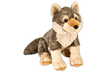 Wild Republic Wolf Plush Stuffed Animal For Kids
