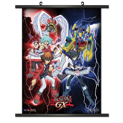 CWS Media Group Officially Licensed Yu-Gi-Oh! GX Wall Scroll
