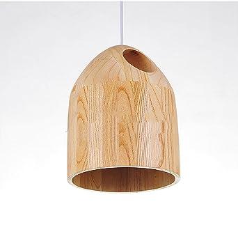 Holz Hängele holz lenschirm hängeleuchte deckenleuchte holzfuß 220v max 60w
