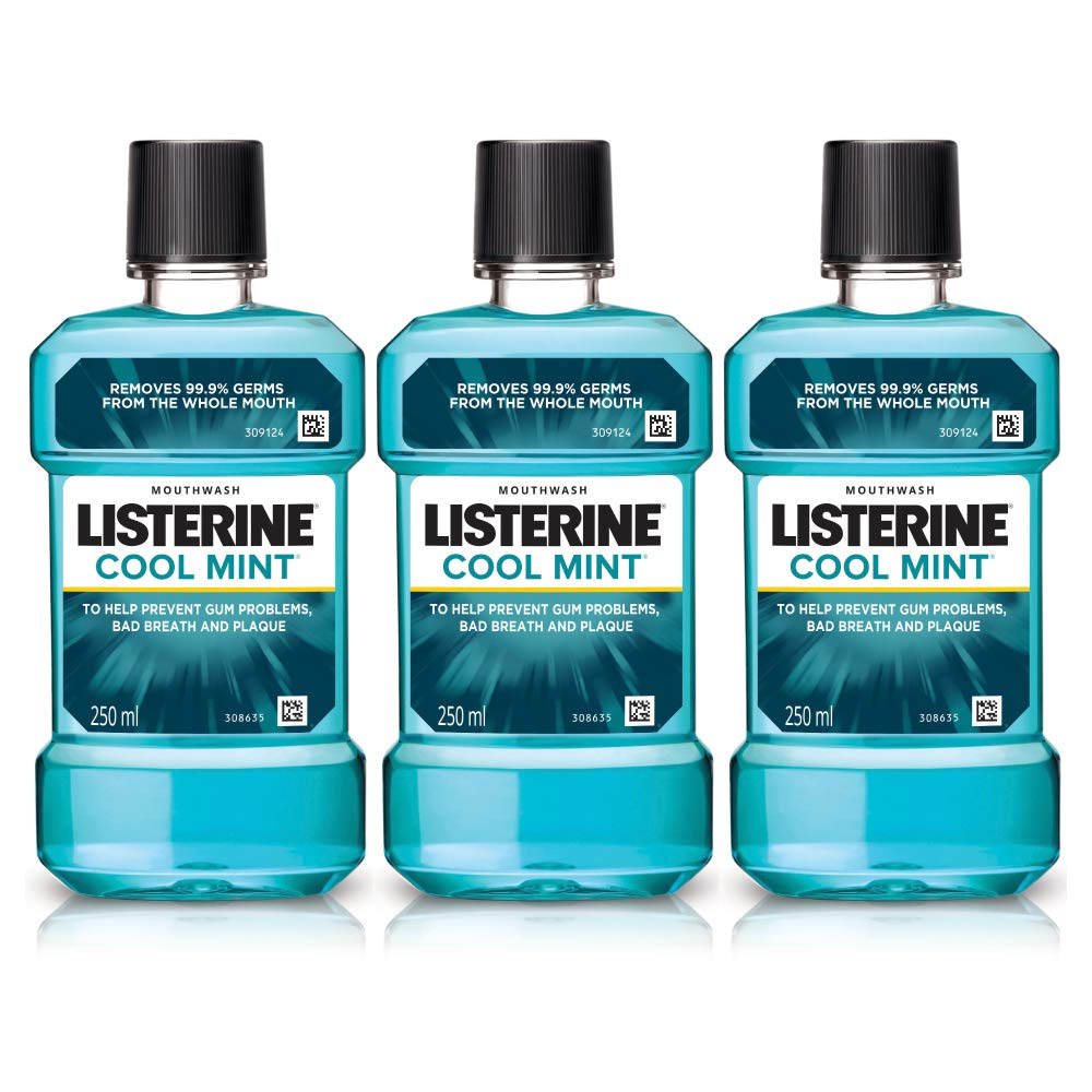 Listerine Cool Mint Mouthwash 250ml (Buy 2 Get 1 Free) product image