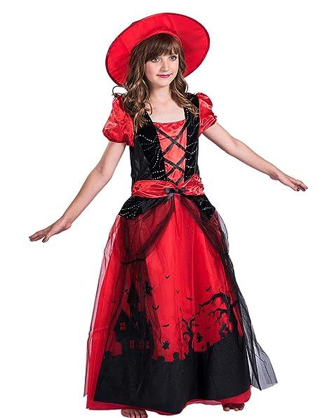 Amazon.com: X-COSTUME - Disfraz de bruja para Halloween ...