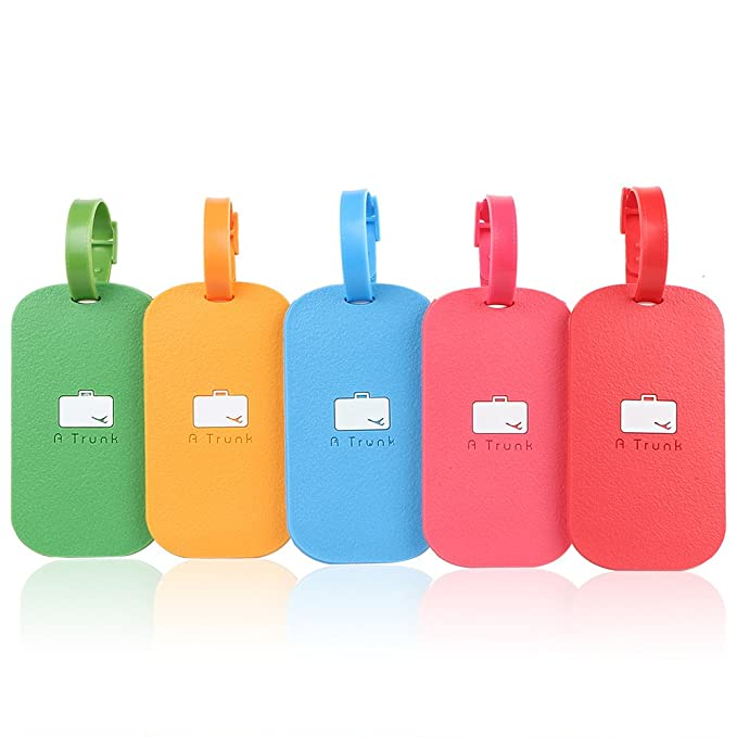 amazon com silicone luggage tags travel tag for baggage suitcase
