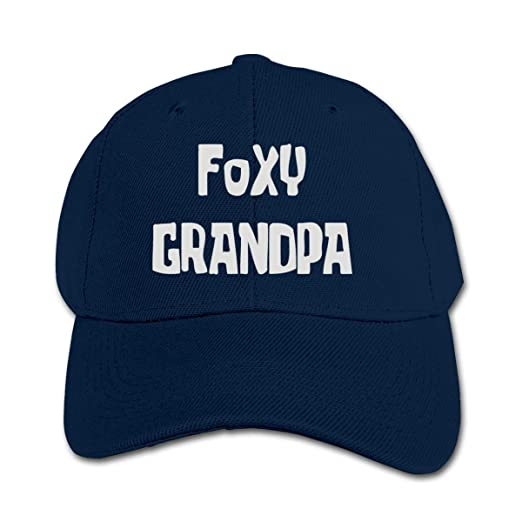 f00ca9560ce Amazon.com  Foxy Grandpa Trucker Cap Adjustable Baseball Hats Boys ...