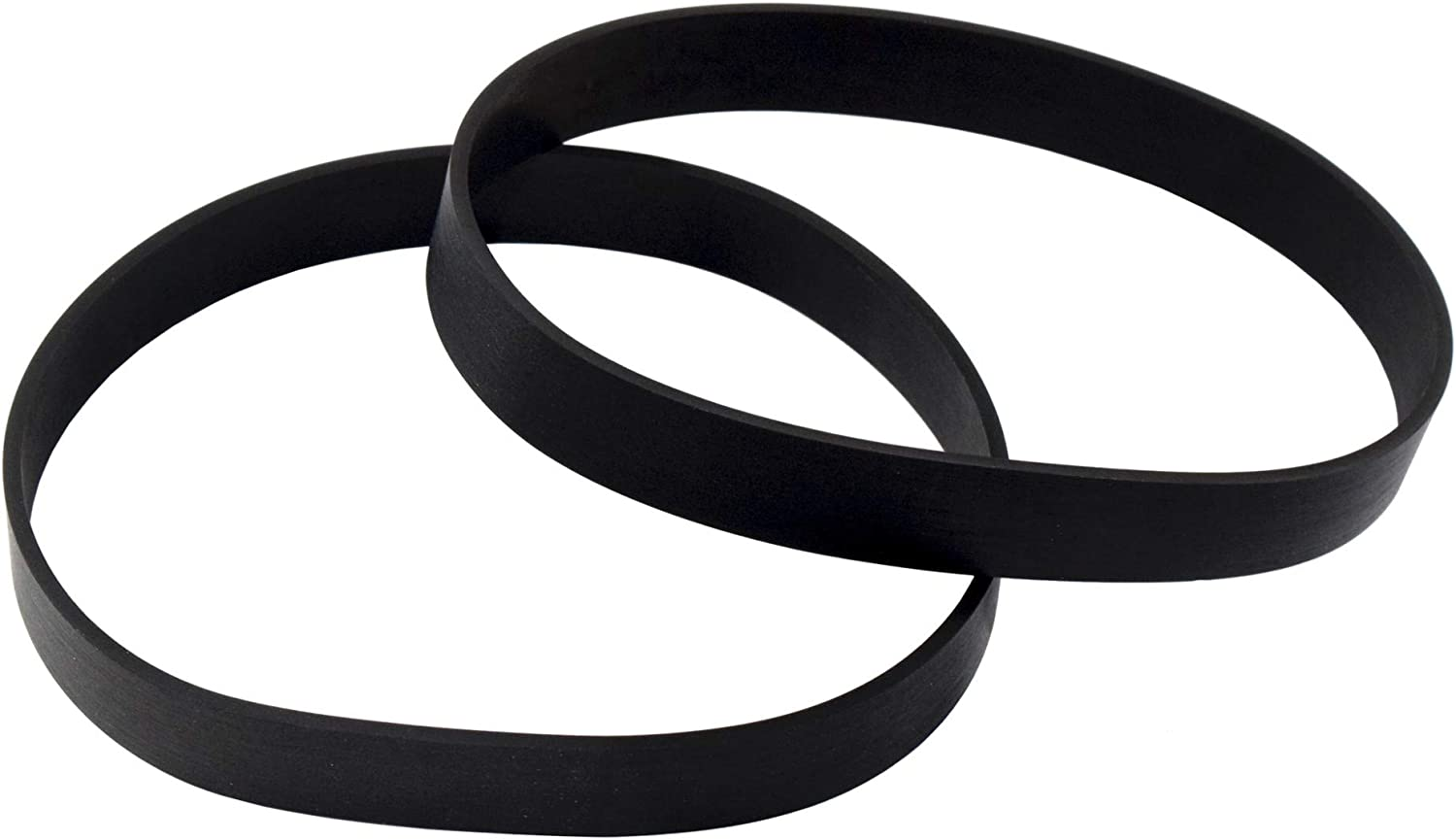HQRP 2-Pack Vacuum Belt Replacement Works with Eureka Style U Belt Parts 61120 61120A 61120B 61120C 61120D 61120F 61120G 2900 4100-4700 5180 5800 7600 8800 9000 AS1000 Series Upright Vacuums