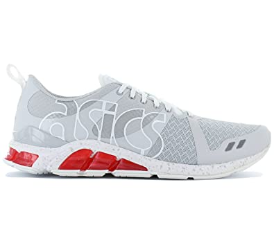 Asics Gel-Lyte One Eighty, Chaussures Mixte Adulte - Gris - Gris/Blanc, 42.5 EU