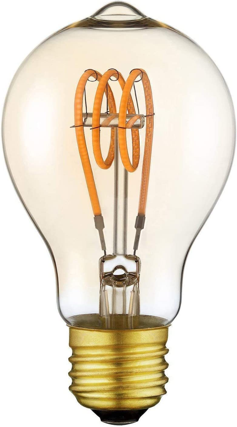 Yunte Vintage Edison Led Light Bulb A19 Dimmable Decorative Lamp