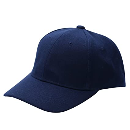 ee35a3c690eba Amazon.com   Fedi Apparel Men Women Plain Baseball Cap Unisex Curved Visor  Hat Hip-Hop Adjustable Peaked Hat Snapback Caps   Sports   Outdoors