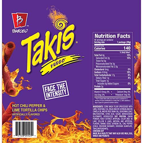 A Product of Takis Fuego (1 oz., 46 pk.)