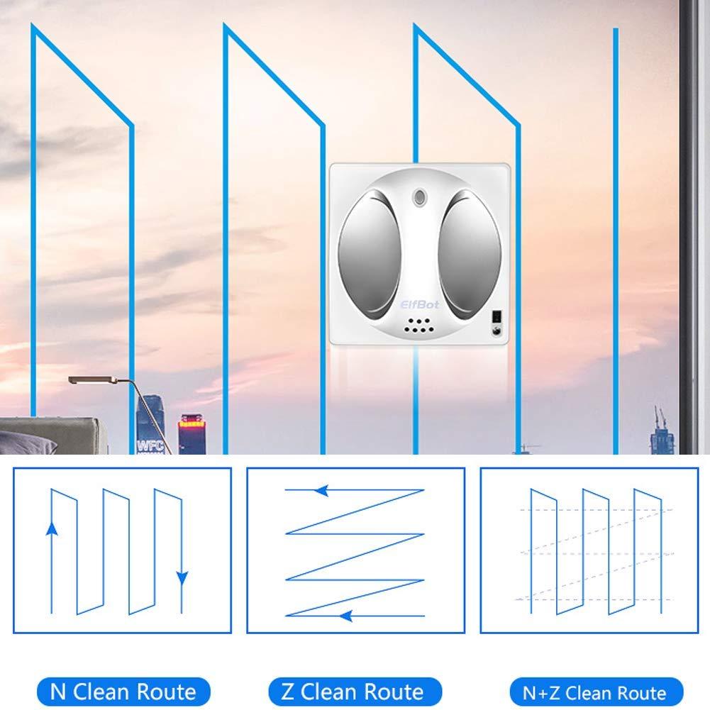 Elfbot Robot Window Cleaner for Frame/Frame-Less Windows High Building,Remote Control Smart Vacuum Robot Glass Cleaner Automatic Window Cleaner Automatic Window Cleaning by ELFBOT (Image #4)
