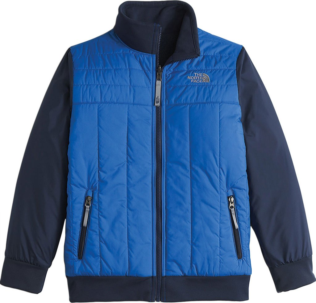 The North Face Reversible Yukon Jacket Boys' Jake Blue Medium by The North Face