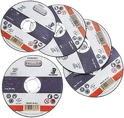 metallo Olbrich-Industriebedarf Disco da taglio 230 x 3 mm ferro in acciaio inossidabile e acciaio