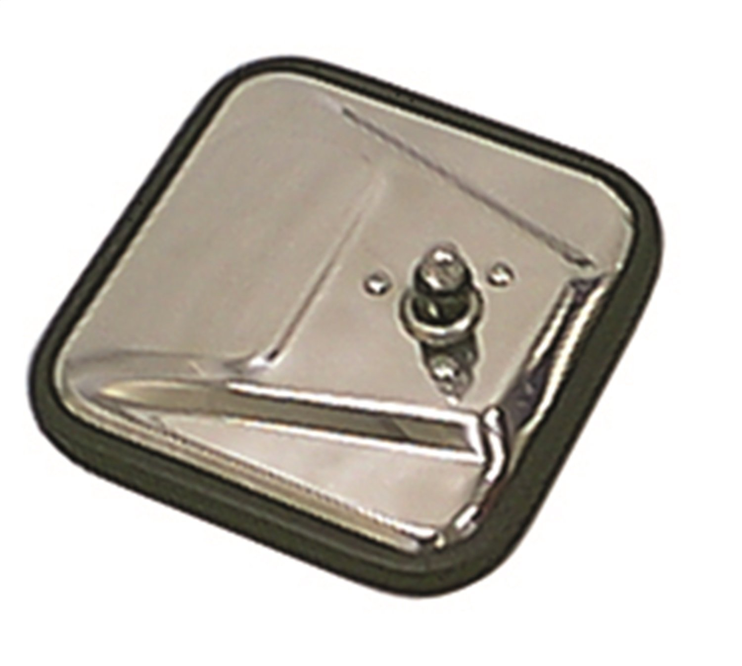 Rugged Ridge 11006.01 Stainless Square Mirror Head