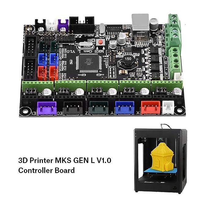 Wendry Placa de Controlador MKS Gen L V1.0,Kit de Impresora 3D ...