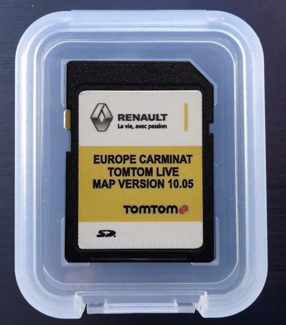 Tomtom Sd Karte Installieren.Sd Karte Europa 2018 10 05 Renault Tomtom Live