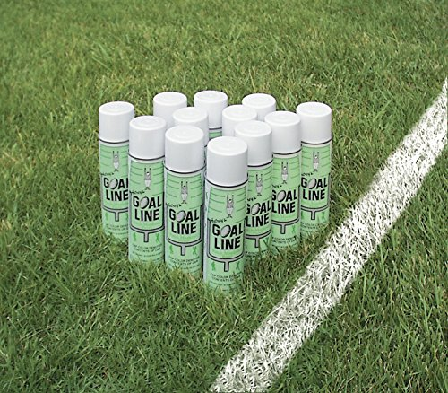 Athletic Specialties  Field Marking Paint Case of 12 Cans, White (Baseball Field Lining)