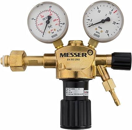 iskravar CO//AR-116 Amatur Gasarmatur Gas Schweißen Druckregler Druckminderer