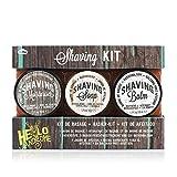 Handsome Shaving Kit - Moisturiser, Soap and Balm