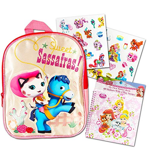 Disney Sheriff Callie Preschool Backpack with Stickers (11