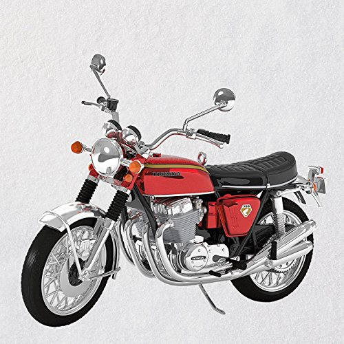 Motorcycle Toy Store Cruiser - Hallmark Keepsake Christmas Ornament 2018 Year Dated, Honda Motorcycles 1969 CB750, Metal