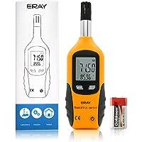 ERAY Digital Température et Humidité Mètre Thermohygromètres Thermomètre Hygromètre avec LCD Affichage (B)