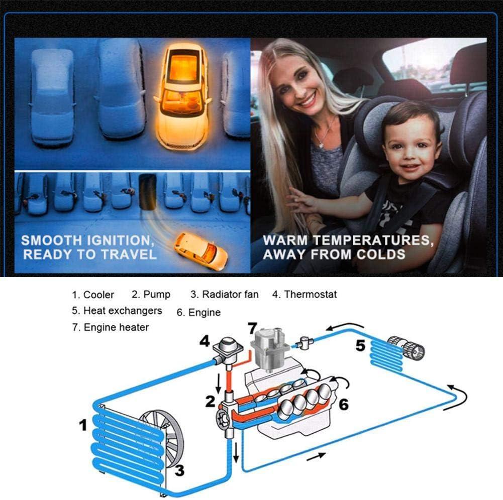 A/érotherme De Stationnement winnerruby 2KW 220V Car Air Heater Outil De Pr/échauffage De Moteur De Voiture Mini Chauffage De Voiture