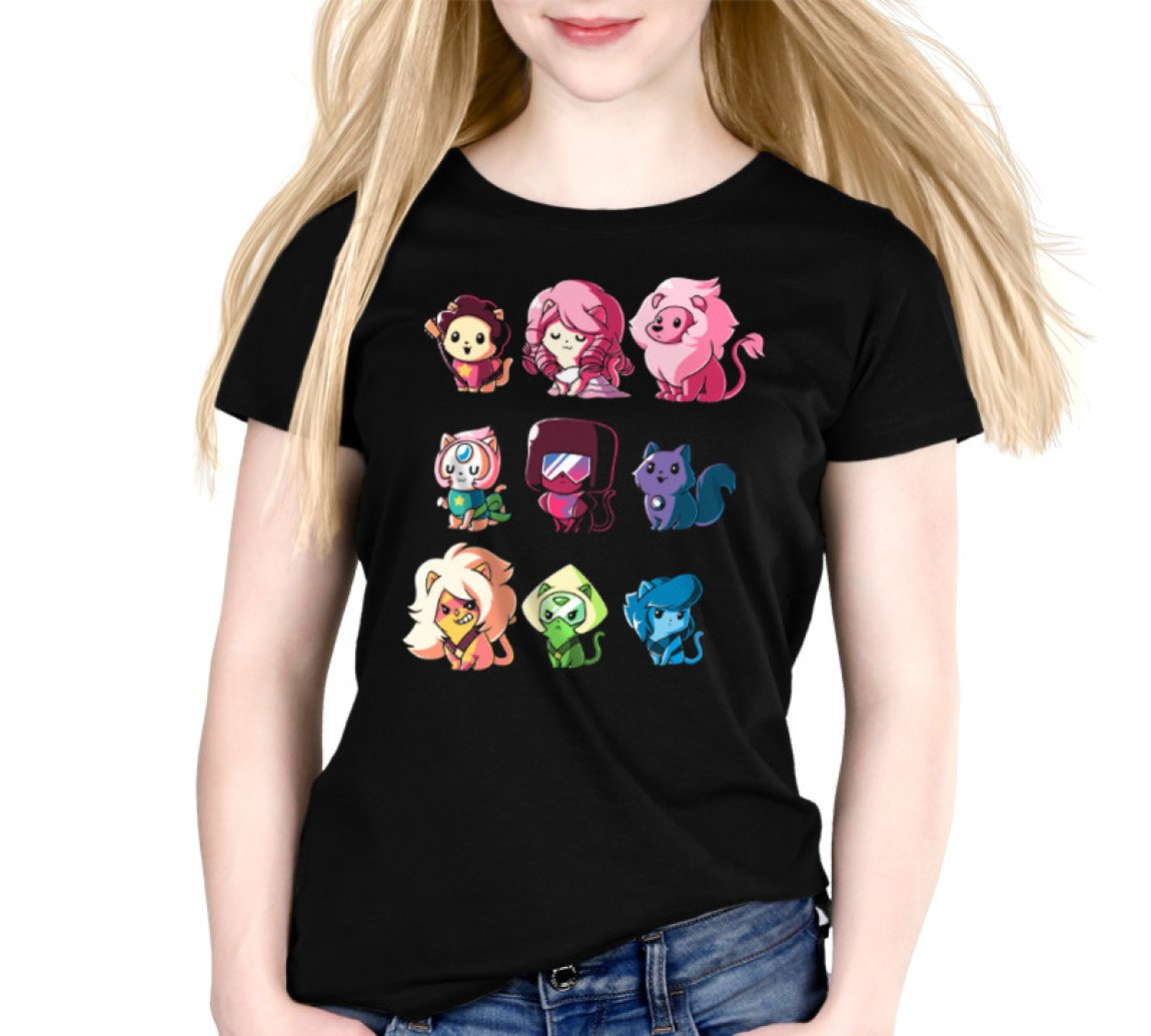 Steven Universe Kitten Universe T-Shirt / Women's Relaxed Fit / M