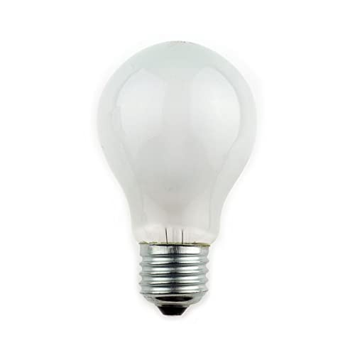 10 X 60 WATT EDISON SCREW E27 PEARL LIGHT BULBS GLS LAMP