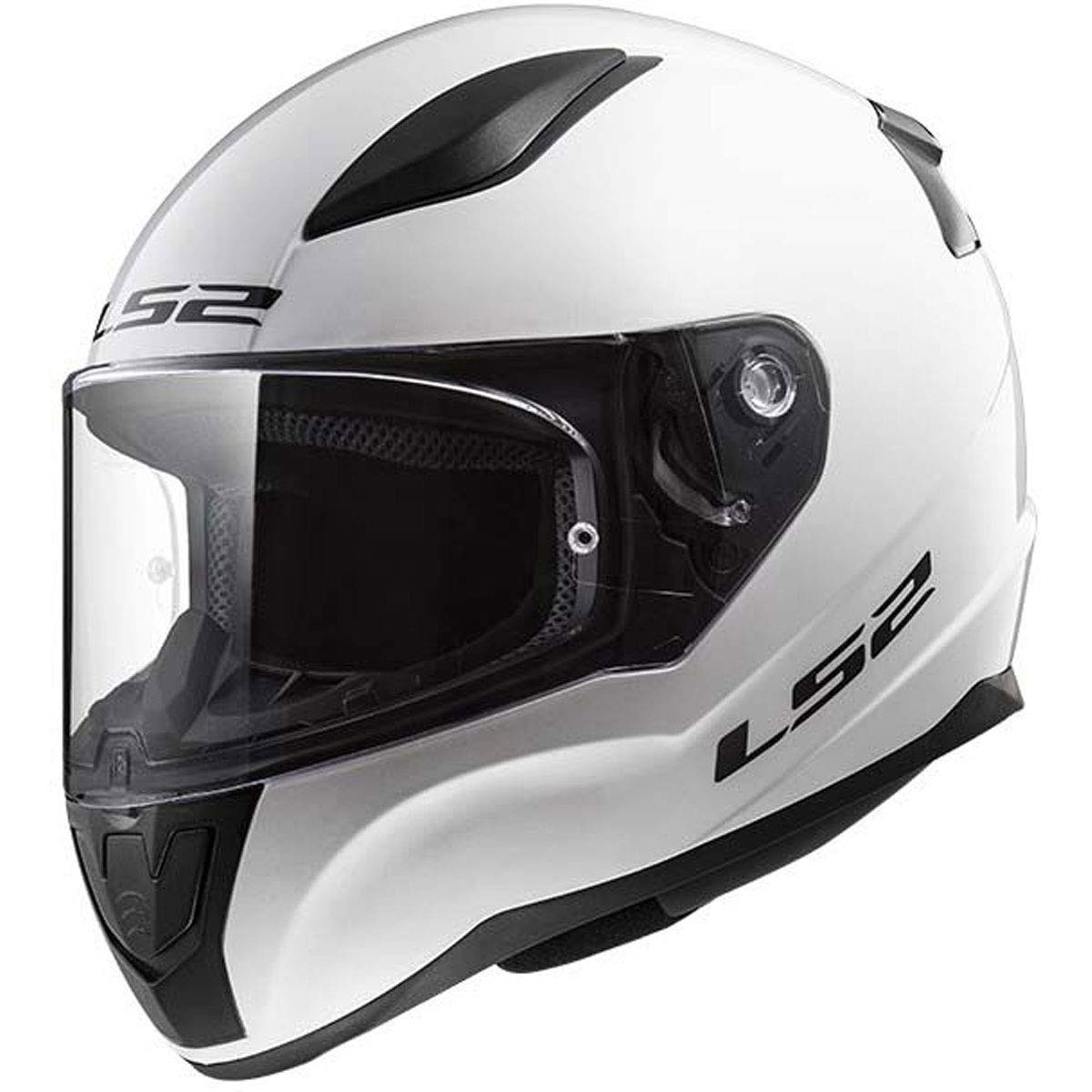 353-1024 LS2 Rapid Helmet GLOSS WHITE LARGE