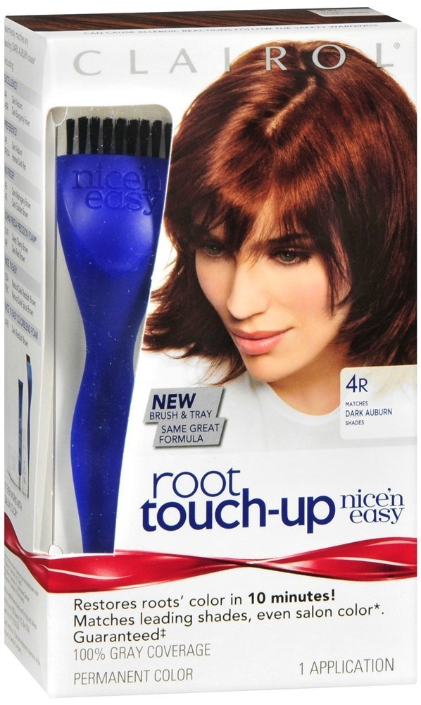 Clairol Nice 'n Easy Root Touch-Up #4R Dark Auburn Procter Gamble Oral/FC CL01252