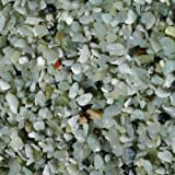 Exotic Pebbles BPJS464 Bean Pebble, Jade, 5 Pounds