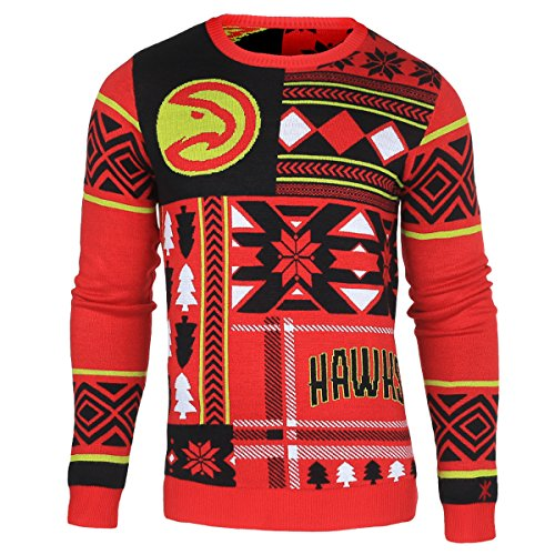 NBA Atlanta Hawks Patches Ugly Sweater
