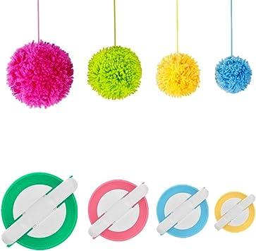Máquina De Coser Loom manualidades de Hilo Muñeca Hágalo usted mismo tejido Cuerda Knitter tejer Plástico