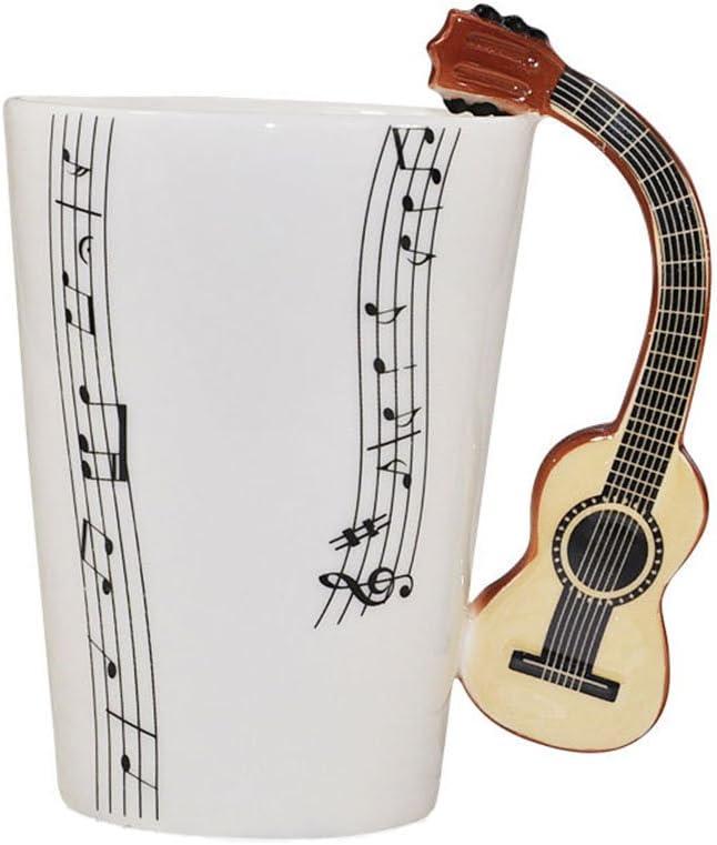 ufengke® Diseño De Las Notas Musicales China De Hueso Taza De La ...
