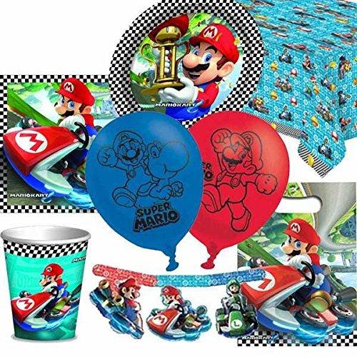 Mario Kart Ultime kit fête soirée pour 8