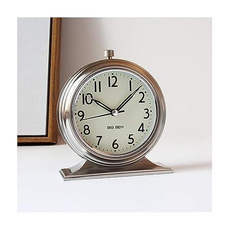 Alarma Reloj de cabecera tictac silenciosa for no Escritorio Reloj ...