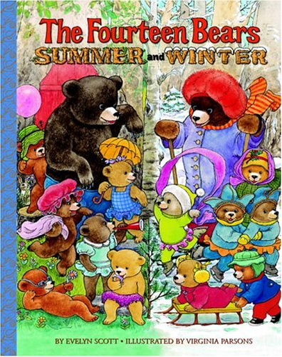 The Fourteen Bears in Summer and Winter (Deluxe Golden Book) by Golden Books (Image #1)