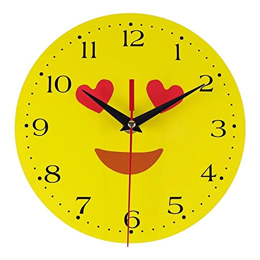 QXLhxuIo Emoticon-Paket - Reloj de Pared Creativo, Moderno, Retro ...