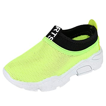 Boys Girls Kids Winter Sport Sneaker for 5-12 Years Old Child Fashion Mesh Breathable Outdoor Running Shoes