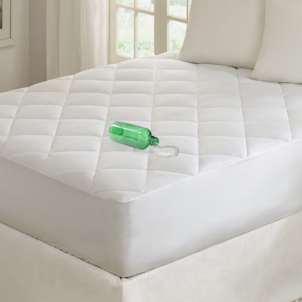 pad watch bed for store philosophy mattress video bath the product waterproof sleep serenity beyond