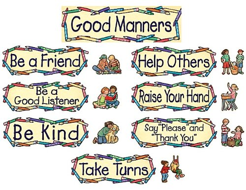 Teacher Created Resources 4297 4297 SW Good Manners Mini Bulletin Board