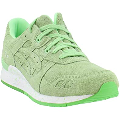 the best attitude 452a1 10a1a ASICS Men's Tiger Gel-Lyte III Neon Running Shoes Patina ...