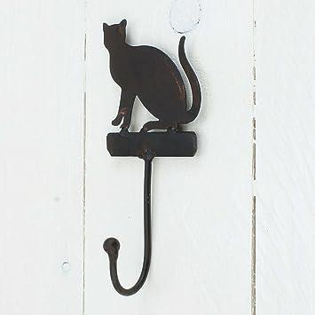 Wildlife Garden DecoHook dise/ño de gato Gancho para ropa