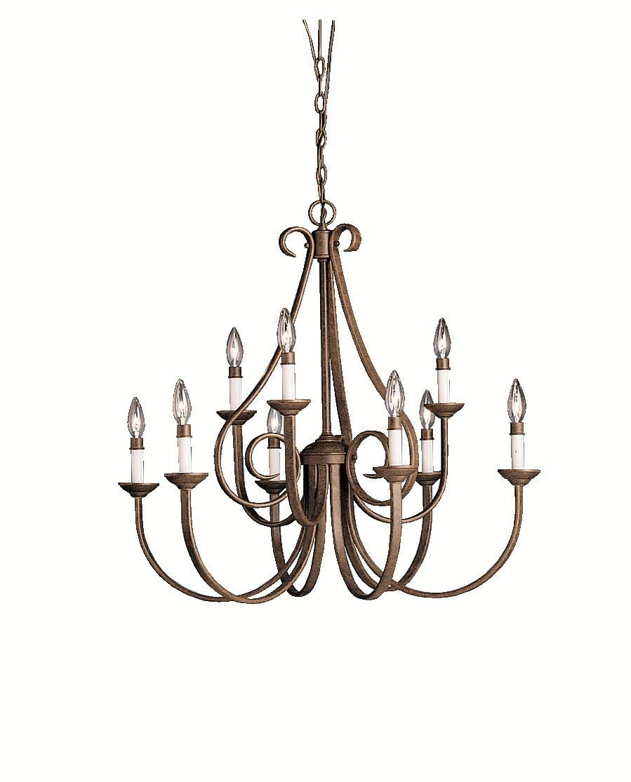 Kichler 2021ni five light chandelier amazon arubaitofo Images