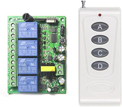 1 télécommandes Porte industrielle contrôle radio 433mhz torsteuerung