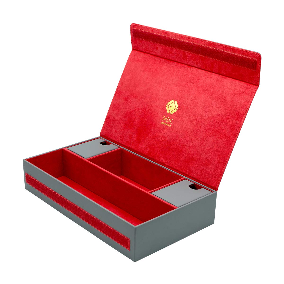 Gray Dex Protection Supreme Game Chest Card Deck Storage Box
