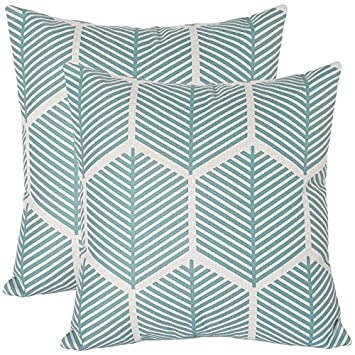 DESIGN WORKS Premium Pillow Cases 2pk for Stamped Embroidery JACOBEAN