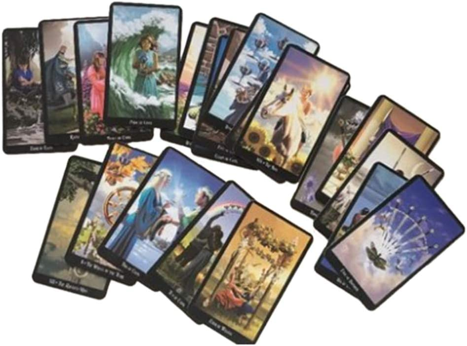 TOPSALE Tarocchi per Le Streghe Tarocchi Carte da Gioco Oracle Giochi da Tavolo Carte da Gioco per Giochi di societ/à
