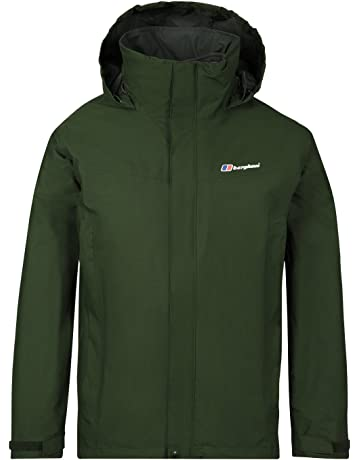 b187e23970 Berghaus Men's Rg Alpha 3-in-1 Waterproof Jacket with Fleece